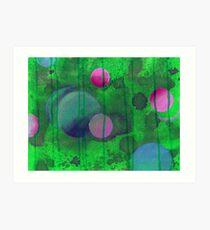 Greenish Sphere Art Print