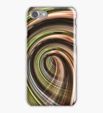 Green Light Strings iPhone Case/Skin