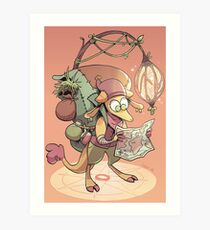 kobold adventurer Art Print