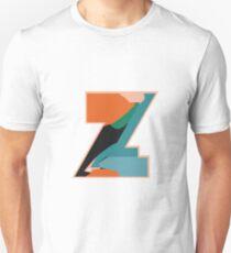 Chunky vibrant alphabet Z Unisex T-Shirt
