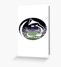 Penn State Beaver Stadium Greeting Card