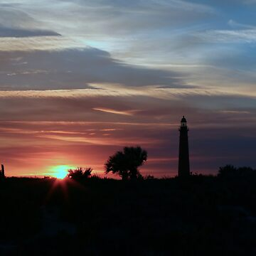 Ponce Inlet Sunset by NSightStudios