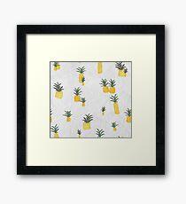 Pineapple Paper Framed Print