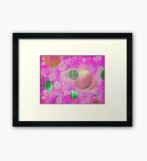 Pink Sphere Framed Print