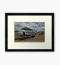 Walking The Moth @ Festival Of Flight 2011 Framed Print