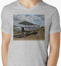 Walking The Moth @ Festival Of Flight 2011 Men's V-Neck T-Shirt