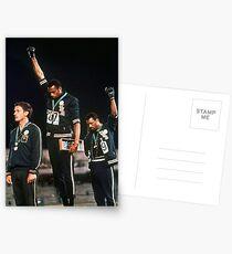 1968 Olympische Spiele Black Power Salute Postkarten
