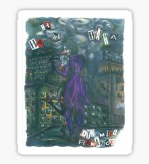 Dynamite Romance { Joker & Harley Quinn } Sticker