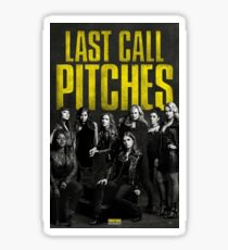 Pitch Perfect 3 poster Sticker
