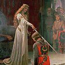 Accolade by Edmund Blair Leighton by Robert Partridge