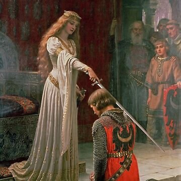 Accolade by Edmund Blair Leighton by robertpartridge