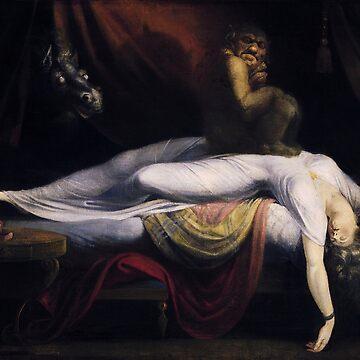 The Nightmare by John Henry Fuseli by robertpartridge