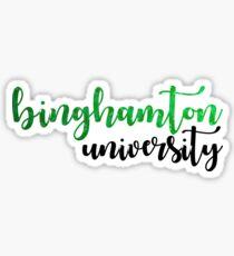 Binghamton University Sticker Sticker