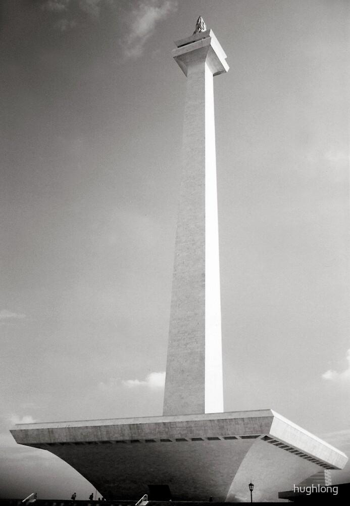 National Monument, Jakarta by hughlong