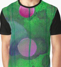 Greenish Sphere Graphic T-Shirt