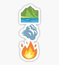 Earth, Wind and Fire ~ Emoji Sticker