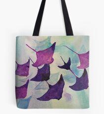 Stingray Water Color Tote Bag