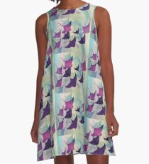 Stingray Water Color A-Line Dress