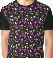 Pink Floral Delight Graphic T-Shirt