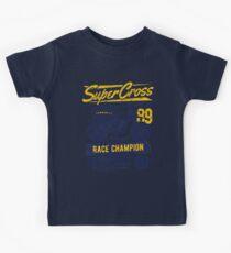 Super Cross Race Champion Kids Tee