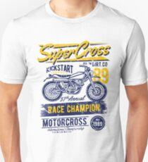 Super Cross Race Champion Unisex T-Shirt