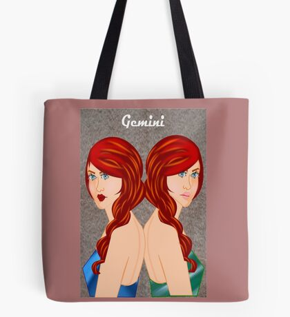 Gemini : Zodiac Sign (7423 views) Tote Bag