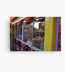 Soft Toy Grabber, Claw Machine Image Canvas Print