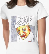 Crying Boy Women's Fitted T-Shirt