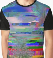 it was a bright glitching day Graphic T-Shirt
