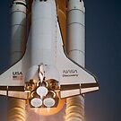 Shuttle Discovery Launch by Robert Partridge