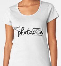 Troy Photocom Logo Women's Premium T-Shirt