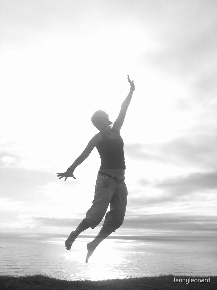Girl Jumping! by Jennyleonard