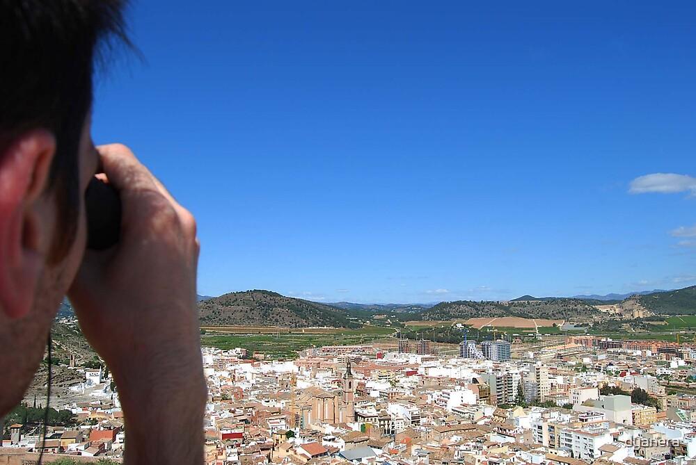 Looking the landscape by dyanera