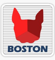Boston Terriers CITGO Sign Sticker