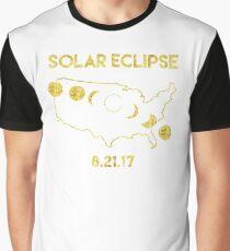 Solar Eclipse 8-21-2017 Graphic T-Shirt