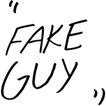 """Fake Guy"" Shirt by hazelcricket"