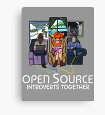 Open Source (Light) Canvas Print