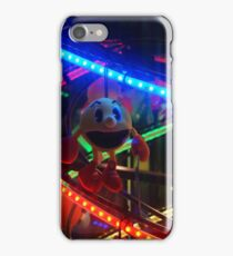 Bright Lights Arcade Machine, Funny Face Soft Toy iPhone Case/Skin