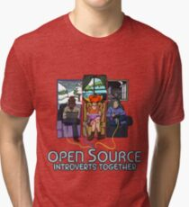 Open Source (Dark) Tri-blend T-Shirt