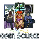 Open Source (Dark) by MonkeyKnot