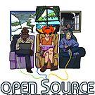 Open Source (Dark) by MonkeyKnot