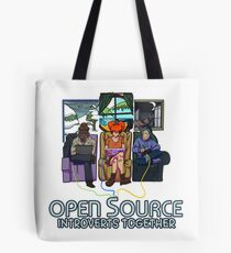 Open Source (Dark) Tote Bag
