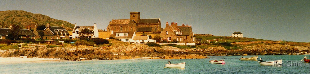 Iona Abbey by Kenart
