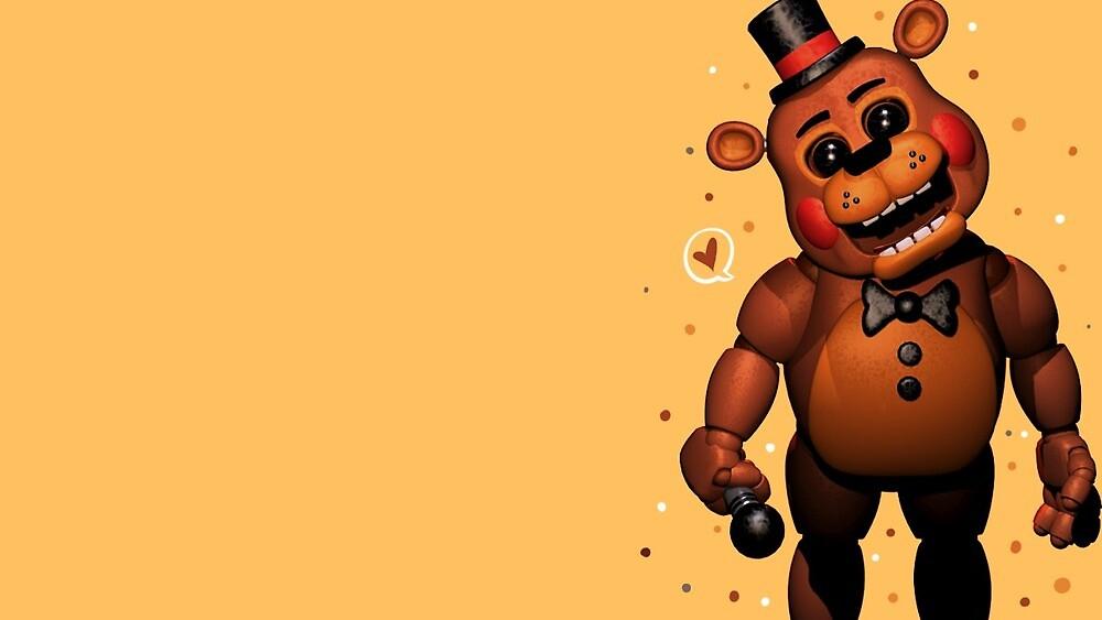 FNAF Toy Freddy poster Five Night's at Freddys  by funtimefoxyfull