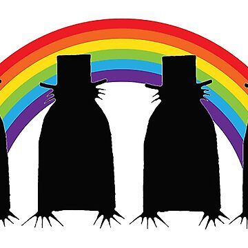 Gay Pride Babadook by wilwineyours