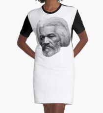 Older Frederick Douglass top quality 2 Graphic T-Shirt Dress
