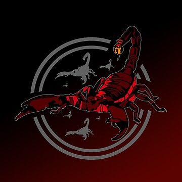 Red Scorpion by Adamzworld