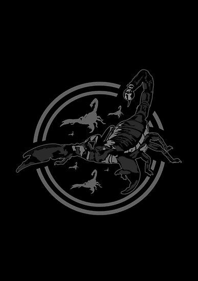 Scorpion GREY by Adam Santana