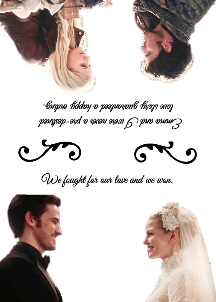 Captain Swan We Fought For Our Love and We Won by certain-bleth