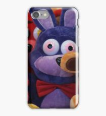 Colourful Soft Toys in Toy Grabber, Claw iPhone Case/Skin
